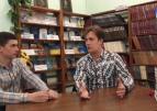 """Письменник Макс Кідрук поспілкувався із журналістами """"15 телеканалу"""""""