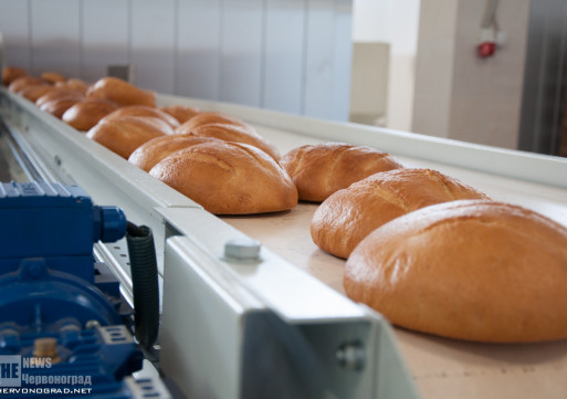 Відкритя хлібозаводу в Червонограді